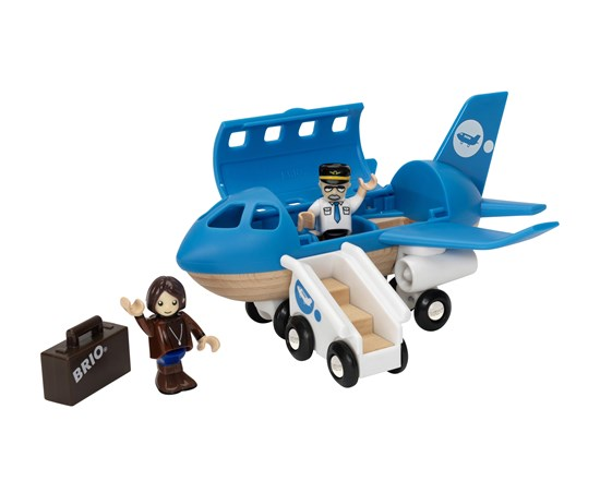 BRIO Airplane Boarding Playset 33306 - educationaltoys.ie