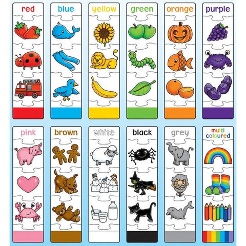 Orchard Toys Colour Match Jigsaw - educationaltoys.ie