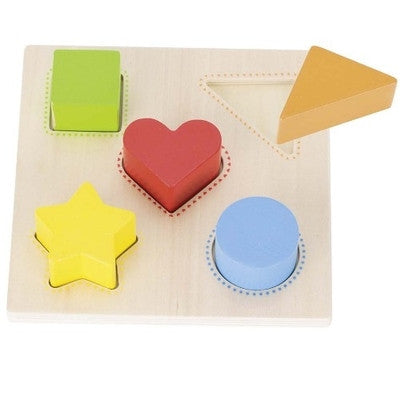 Goki Colour & Shape Board - educationaltoys.ie