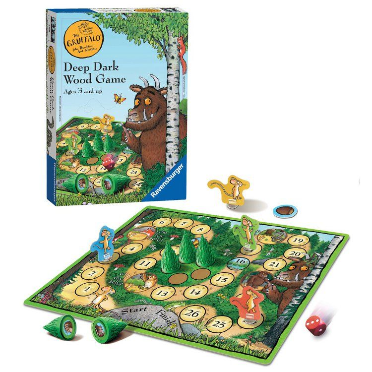 The Gruffalo Deep Dark Wood Game - educationaltoys.ie