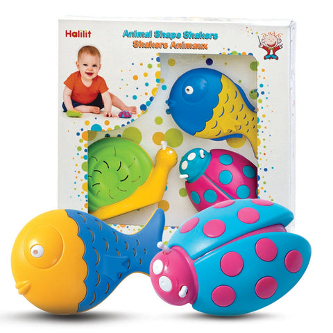 Halilit Animal Shaker Set - educationaltoys.ie