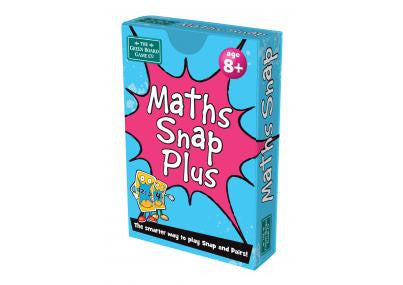Maths Snap Plus Card Game - educationaltoys.ie