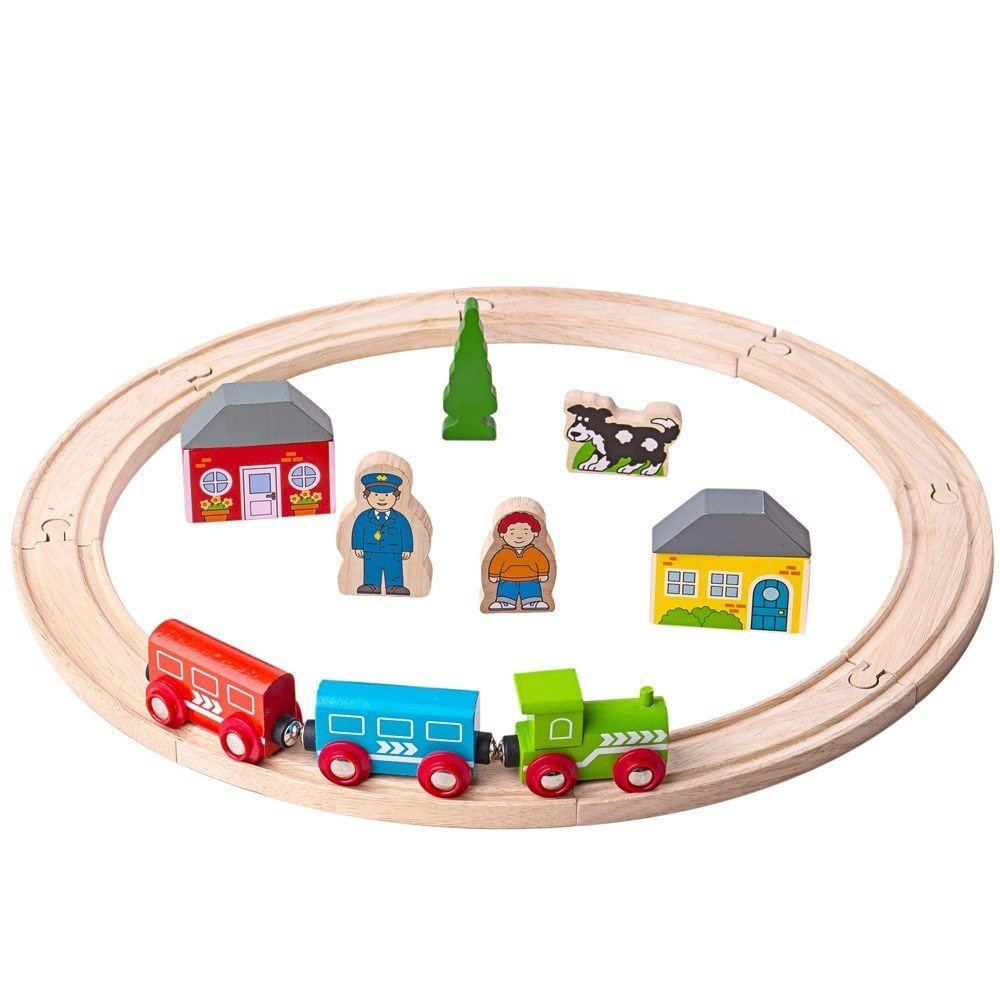 My First Trainset (20 Piece) BJT010 - educationaltoys.ie