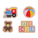 Toys 2 Piece Wooden Puzzle - educationaltoys.ie