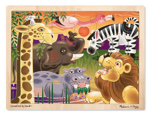 Melissa & Doug African plains jigsaw - educationaltoys.ie