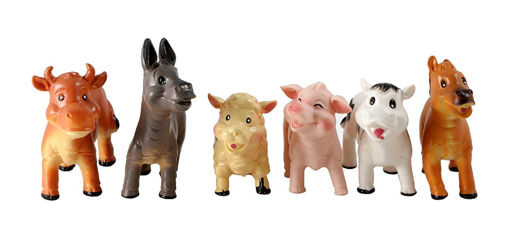 Baby Farm Animals Playset - educationaltoys.ie