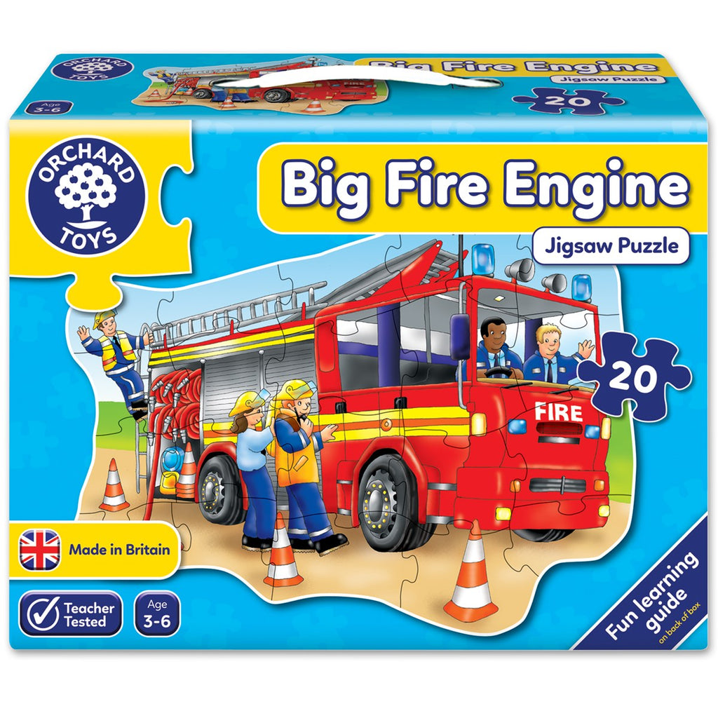 Orchard Toys Big Fire Engine Jigsaw - educationaltoys.ie