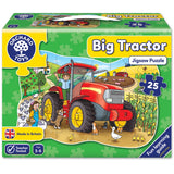 Big Tractor 25 piece puzzle - educationaltoys.ie