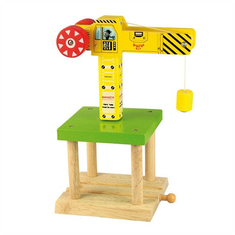 Big Yellow Crane BJT175 - educationaltoys.ie