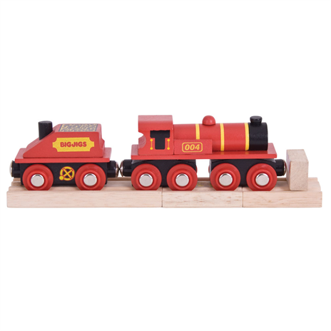 BJT418 Big Red Engine - educationaltoys.ie