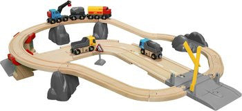 BRIO 33210 Rail & Road Loading Set - educationaltoys.ie
