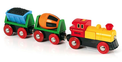 Battery Operated Action Train BRIO 33319 - educationaltoys.ie