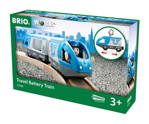 Travel Battery Train BRIO 33506 - educationaltoys.ie