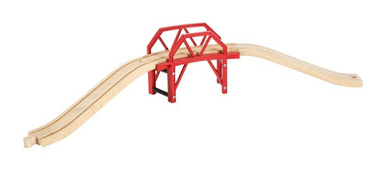 BRIO Curved Bridge 33699 - wooden rail - educationaltoys.ie