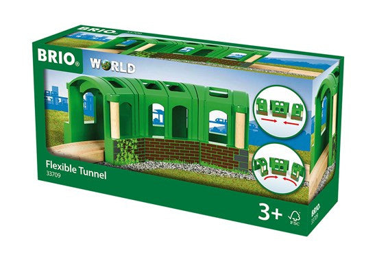 BRIO 33709 Flexible Tunnel - wooden trains - educationaltoys.ie