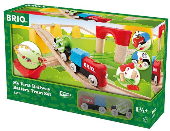 Brio My First Railway Battery Train set 33710 - Educationaltoys.ie