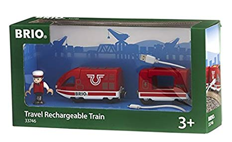 BRIO 33746 Travel Rechargeable Train - educationaltoys.ie