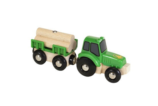 Tractor & load Brio 33799 - BRIO - Educationaltoys.ie