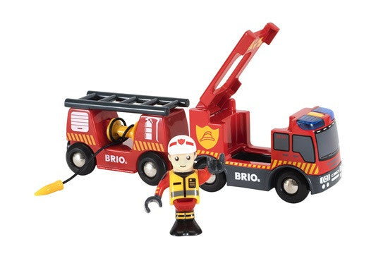 BRIO Emergency Fire Engine 33811 - educationaltoys.ie