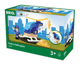BRIO 33828 Police Helicopter - wooden trains - educationaltoys.ie