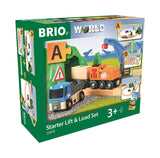 BRIO 33878 Starter Lift & Load Set - educationaltoys.ie