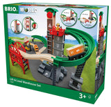BRIO 33887 Lift & Load Warehouse Set - educationaltoys.ie