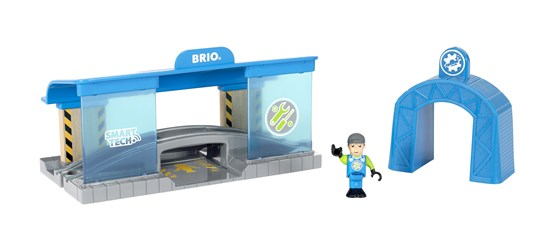 BRIO Smart Tech Railway Works 33918 - educationaltoys.ie