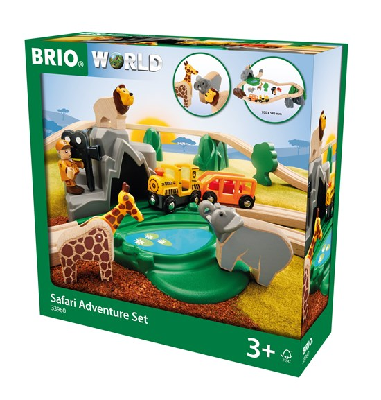BRIO Safari Adventure Set 33960 - educationaltoys.ie