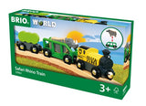 BRIO Safari Rhino Train 33964 - educationaltoys.ie