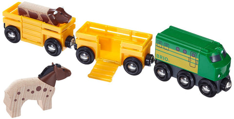 Brio Farm Train 33404 - Wooden Trains - Educationaltoys.ie