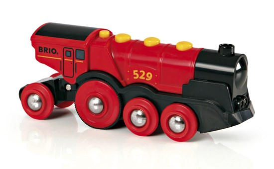 Brio Mighty Red Action Train 33592 - educationaltoys.ie