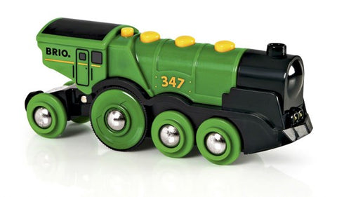 Brio Big Green Action Train 33593 - educationaltoys.ie