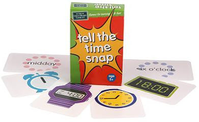 Tell the time snap - educationaltoys.ie