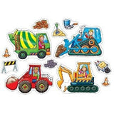 Orchard Toys Big Wheels 4 & 8 piece puzzles - educationaltoys.ie
