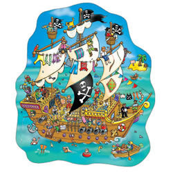 Pirate Ship 100pce jigsaw - educationaltoys.ie
