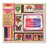 Melissa & Doug Friendship Stamp set - Educationaltoys.ie