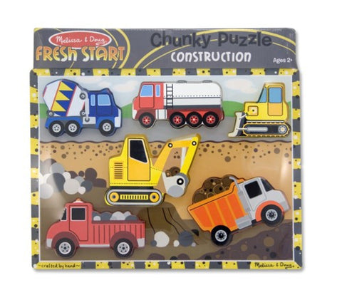 Construction chunky puzzle - educationaltoys.ie