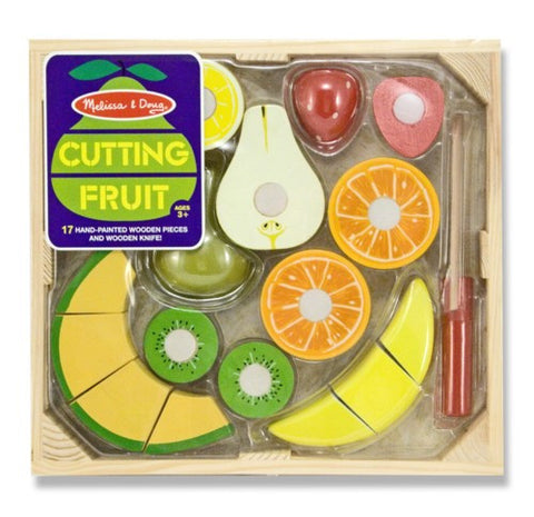 Melissa & Doug Wooden Cutting Fruit - educationaltoys.ie