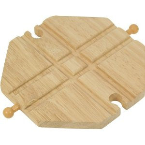 Wooden Croosing Plate BJT105 - wooden trains - educationaltoys.ie