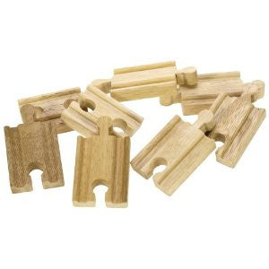 Bigjigs Mini Wooden Track BJT104 - educationaltoys.ie