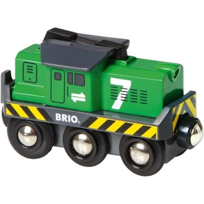 BRIO 33214 Freight Battery Engine - educationaltoys.ie