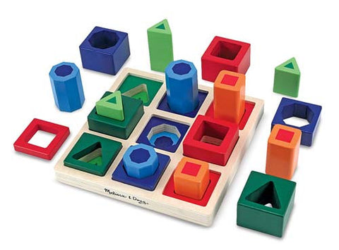 Shape Sequence Sorting - educationaltoys.ie