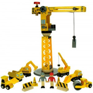 BJT200 Big Yellow Crane & Construction set