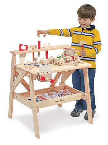 Melissa & Doug Wooden project Workbench - educationaltoys.ie