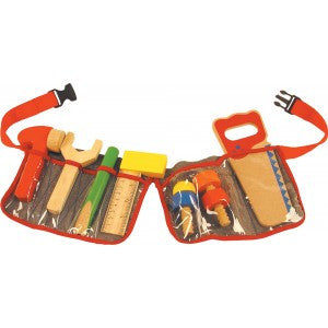 Carpenter's Toy Tool Belt BJ311 - pretend play - educationaltoys.ie