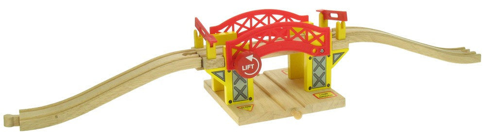 Lifting Bridge BJT189 - wooden track - educationaltoys.ie