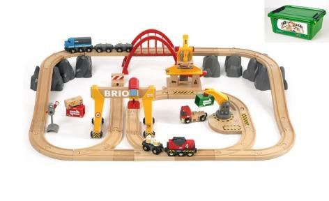 Brio Cargo Railway Deluxe Set in Tub BRIO 33097