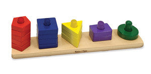 Stack & Sort Board - educationaltoys.ie