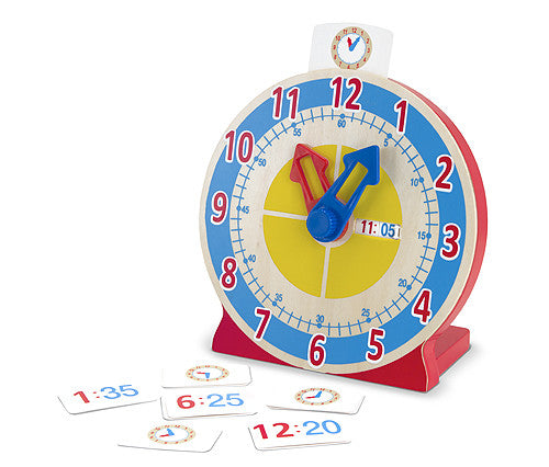 Melissa & Doug Turn & Tell Clock - educationaltoys.ie