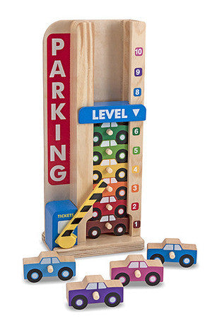 Stack & Count Parking Garage - educationaltoys.ie